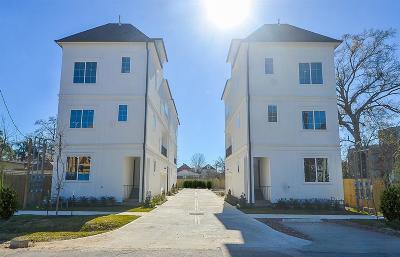 Houston Single Family Home For Sale: 1222 W 24th Street #B
