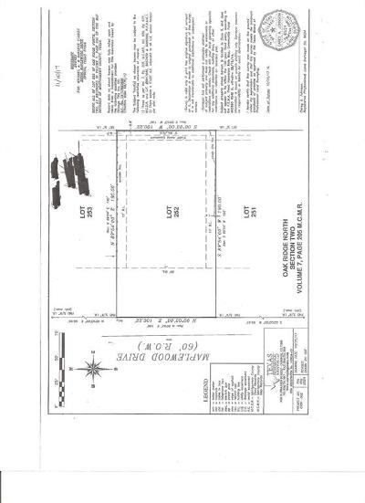Spring Residential Lots & Land For Sale: 26006 Maplewood Drive