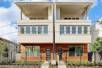 Houston Single Family Home For Sale: 4316 Feagan Street #A
