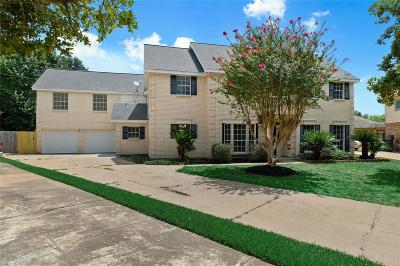 Houston Single Family Home For Sale: 7726 Spyglass Drive
