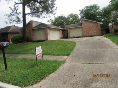 Single Family Home For Sale: 2438 Strait Lane
