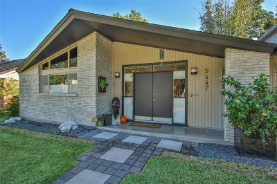 Houston Single Family Home For Sale: 5447 Ariel Street