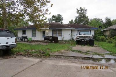 Texas City Single Family Home For Sale: 3005 Vance Ave Avenue