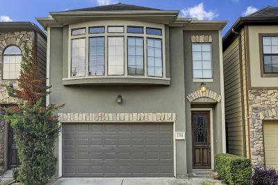 Houston Single Family Home For Sale: 1344 Studer Street