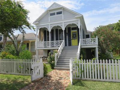 Galveston Single Family Home For Sale: 2008 Avenue N 1/2