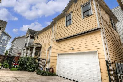 Houston Single Family Home For Sale: 1126 W 17th Street #D