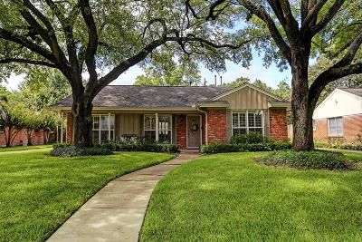 Houston Single Family Home For Sale: 7806 Overbrook