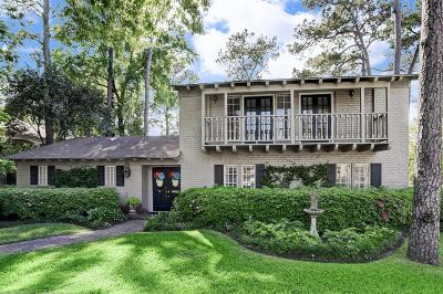 Houston Single Family Home For Sale: 14 Twin Circle Drive