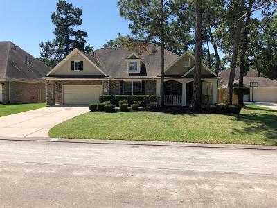 Conroe Single Family Home For Sale: 14 N Evangeline Oaks Circle