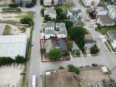 Houston Single Family Home For Sale: 1403 Johnson Street