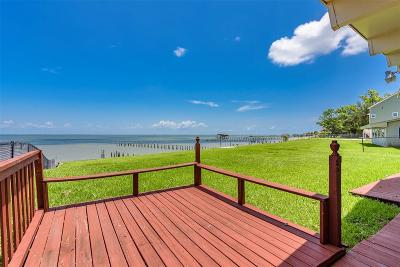 Bacliff Single Family Home For Sale: 5039 W Bayshore Drive