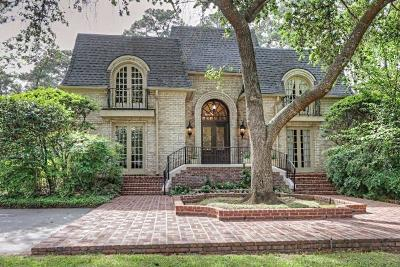Tomball Single Family Home For Sale: 17910 Country Hills