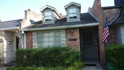Bellaire Condo/Townhouse For Sale: 5205 Palmetto #C