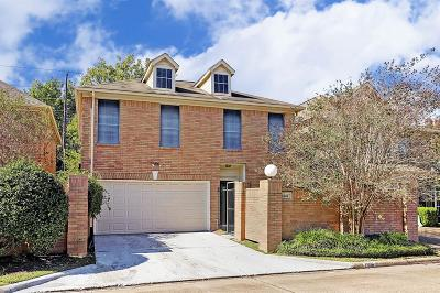 Houston Single Family Home For Sale: 1306 Parkway Court