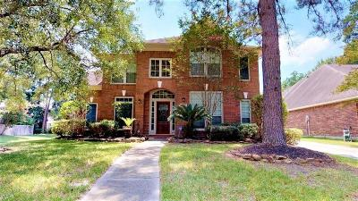 Kingwood Single Family Home For Sale: 4814 Woodstream Village Drive