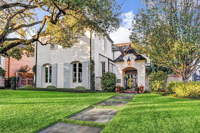 River Oaks Single Family Home For Sale: 3256 Reba Drive