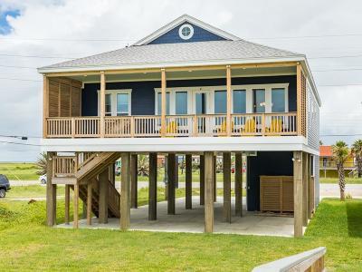 Galveston Single Family Home For Sale: 23409b Termini San Luis Pass Road #B