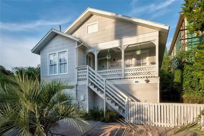 Galveston TX Single Family Home For Sale: $189,000
