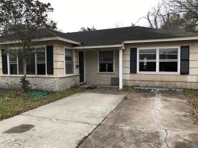 Bellaire Single Family Home For Sale: 4531 Holly Street