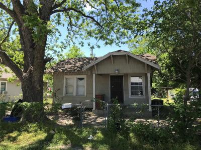 Single Family Home For Sale: 1309 Cordell Street