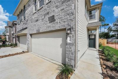 Spring Condo/Townhouse For Sale: 4342 Foggy Creek Lane