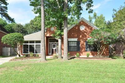 Kingwood Single Family Home For Sale: 5207 Wild Blackberry Drive