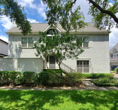 Harris County Rental For Rent: 1714 Brun Street #8
