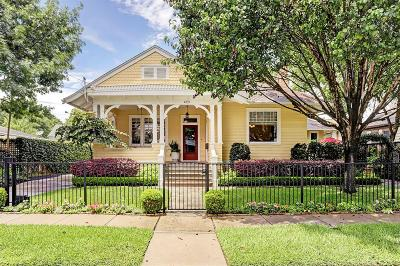 Greater Heights Single Family Home For Sale: 423 Highland Street