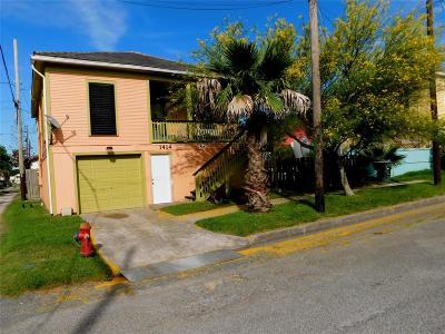 Galveston Rental For Rent: 1414 17th Street #down