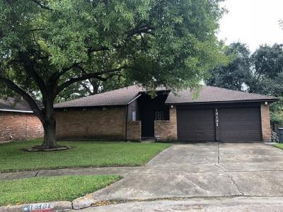Houston Single Family Home For Sale: 13131 Benford Drive