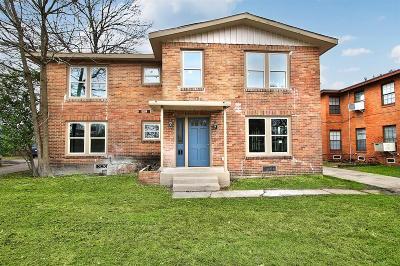 Houston Multi Family Home For Sale: 3328 Blodgett Street