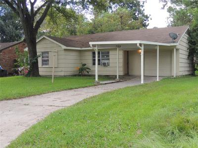 Houston Single Family Home For Sale: 7258 Wiley Road