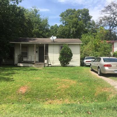Houston TX Single Family Home For Sale: $50,000