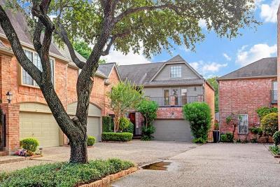 Houston Condo/Townhouse For Sale: 2506 Potomac Drive #D