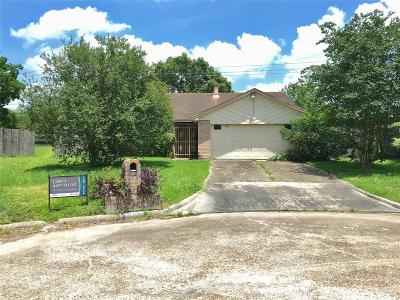 Houston TX Single Family Home For Sale: $74,000