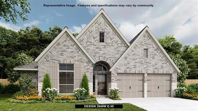 Fulshear Single Family Home For Sale: 3710 Lake Falls Drive