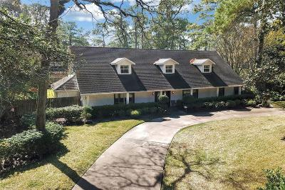 Houston Single Family Home For Sale: 11925 Memorial Drive