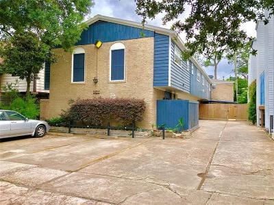 Houston Multi Family Home For Sale: 1855 Portsmouth Street