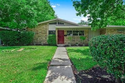 Houston TX Single Family Home For Sale: $259,000