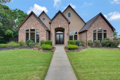 Friendswood Single Family Home For Sale: 1717 Hunters Trail