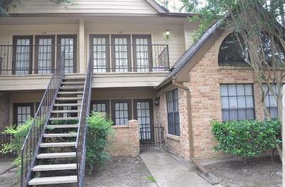Houston Condo/Townhouse For Sale: 16800 Sugar Pine Drive #C-17