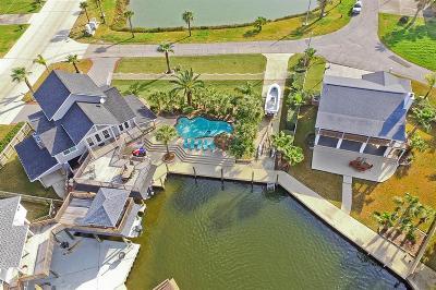 Tiki Island Single Family Home For Sale: 1775 Tiki Drive Drive