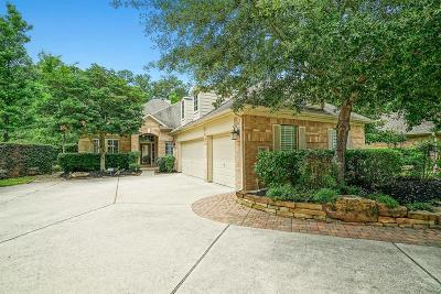 The Woodlands Single Family Home For Sale: 186 Claridge Oak Court