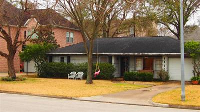 Bellaire Single Family Home For Sale: 4907 Imperial Street