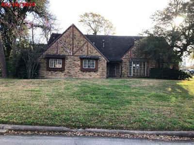 Houston Single Family Home For Sale: 7803 Oak Vista Street