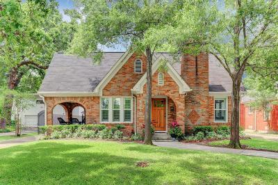 Galveston County, Harris County Single Family Home For Sale: 6618 Park Lane