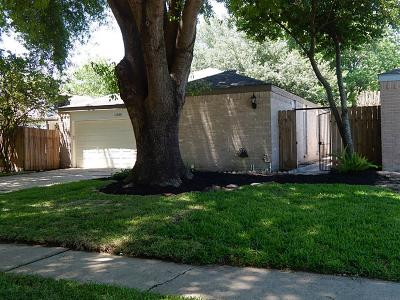 Houston Single Family Home For Sale: 11630 Herald Square Drive