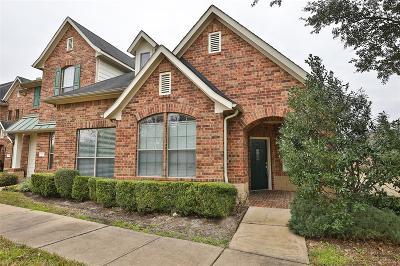 Houston Condo/Townhouse For Sale: 17727 Skyline Arbor