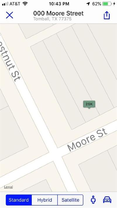 Tomball Residential Lots & Land For Sale: Moore Street