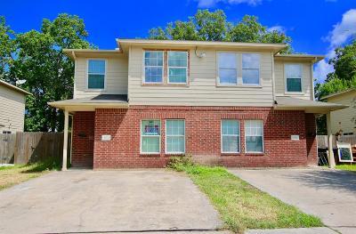 Houston Multi Family Home For Sale: 4731 Clover Street